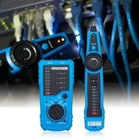 RJ45 Crimper LAN Tester Ethernet Detector Line Finder RJ11 Cat5 Cat6 LAN Network Cable Tester Telephone Wire Tracker Lan Test