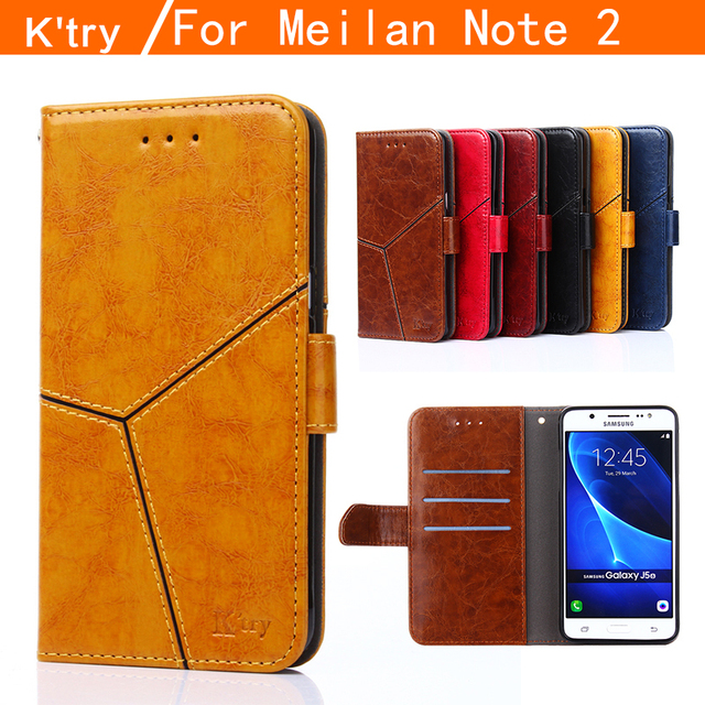 K'try MEIZU M2 Note case, High Quality Wallet style Flip Leather case For MEIZU M2 Note / Meilan Note 2 Note2 phone case cover