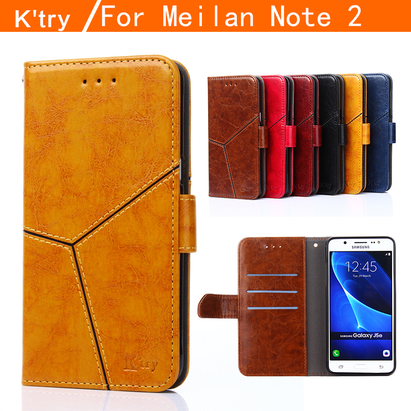 K try MEIZU M Note case High Quality Wallet style Flip Leather