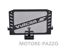 Black Motorcycle Accessories Radiator Guard Protector Grille Grill Cover For Kawasaki VULCAN S 15 16 VULCAN 650