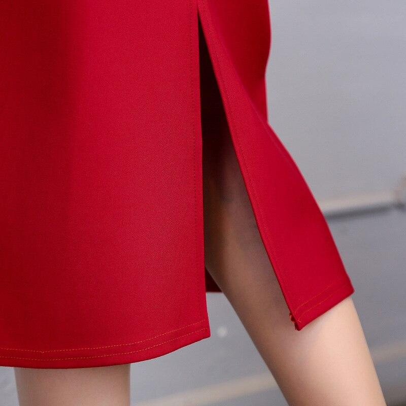 SHINYMORA Sommer Bleistift Röcke für Frauen 2017 All-gleiches Hohe Taille Elastischen Schlauch Bodycon OL Arbeit Tragen Damen Lange Röcke Fomal