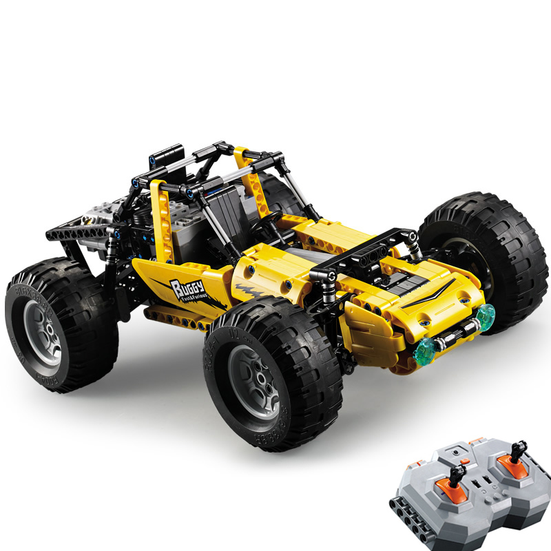 522pcs Buggy 2.4Ghz Technic City RC All Terrain Off-Road Climbing Truck Car Fit Legoing Building Blocks Bricks Kids Toy Gift