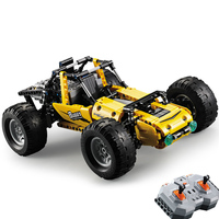522pcs 2.4Ghz Legoing Technic City RC All Terrain Off Road Climbing Trucks Car Off Road Racing Building Blocks Bricks Toys Gifts