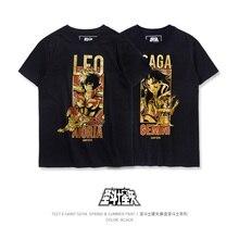 TEE7 Fashion Klassieke Anime Saint Seiya T shirt Mannen Vrouwen Gedrukt 3d Tshirt Streetwear Unisex Mode Stijl Zomer Tops T shirt