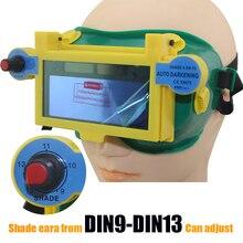 DIN9-DIN13 темный оттенок Солнечная авто затемнение глаз маска/шлем заварки сварщик защиты шлем/сварки безопасности маска для сварщика машина