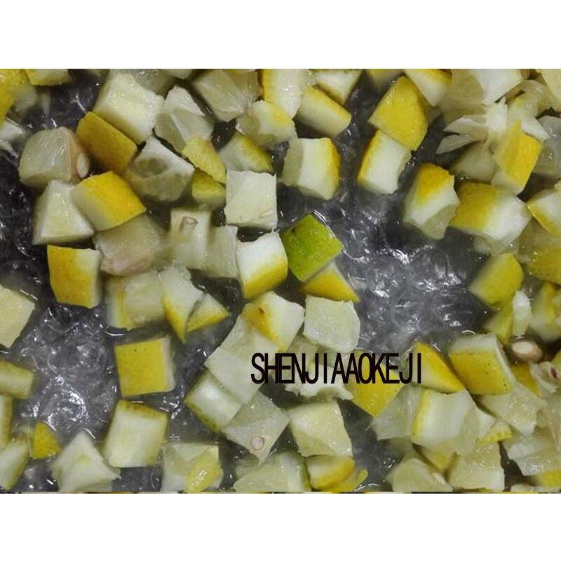 Edelstahl kartoffeln würfeln maschine karotten shred seide schneiden maschine multifunktions bauchige dicer maschine 1 pc 220 V