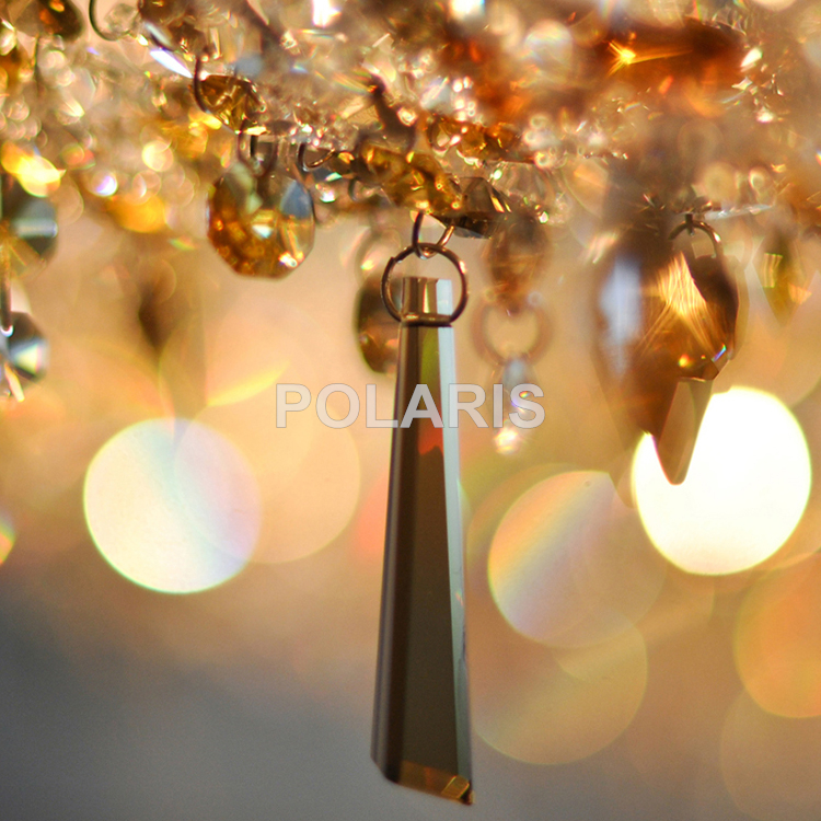 Image 5 - Contemporary Modern Luxury LED K9 Crystal Chandelier Lighting Hanging Lights / Lamps for Villa Dining Room and Hotel Decoration-in Chandeliers from Lights & Lighting