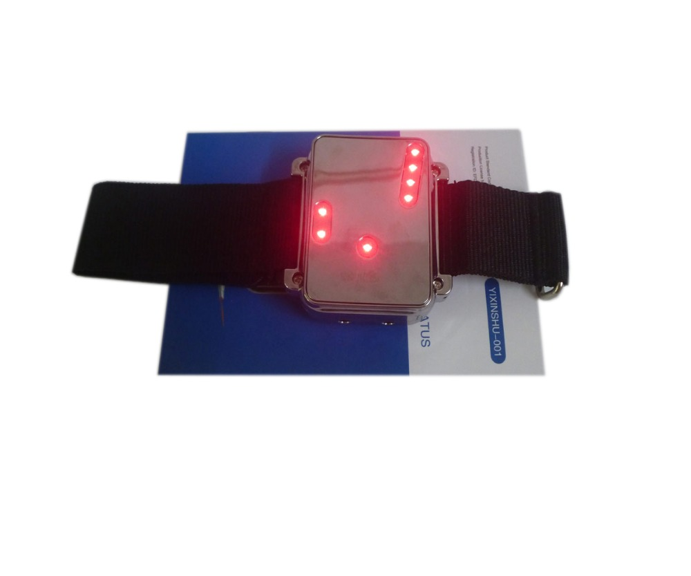 CE TV 650nm jenama laser Urutan terapi pergelangan tangan Diode Laser - Penjagaan kesihatan - Foto 3