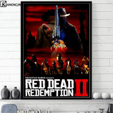 Buy poster red dead redemption and get free shipping on AliExpress com
