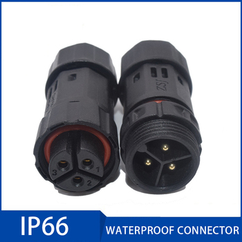 цена на M19 Assembled Waterproof Electrical Cable Connector Plug Socket 2 3 4 5 6 7 8 9 10 Pin IP66 Connectors for Security Equipment