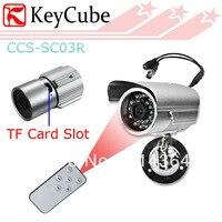 24 LED IR Güvenlik Dijital Video Kaydedici Kamera CCTV Su Geçirmez DVR Gözetim Kamera Uzaktan Kumanda kadar 16 GB