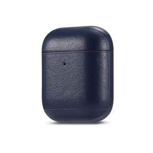 Image 4 - יוקרה עסקים אוזניות מקרה עבור אפל Airpods 2 רצועת עור מפוצל Bluetooth אוזניות אוויר תרמילי כיסוי פאוץ Airpod אבזרים