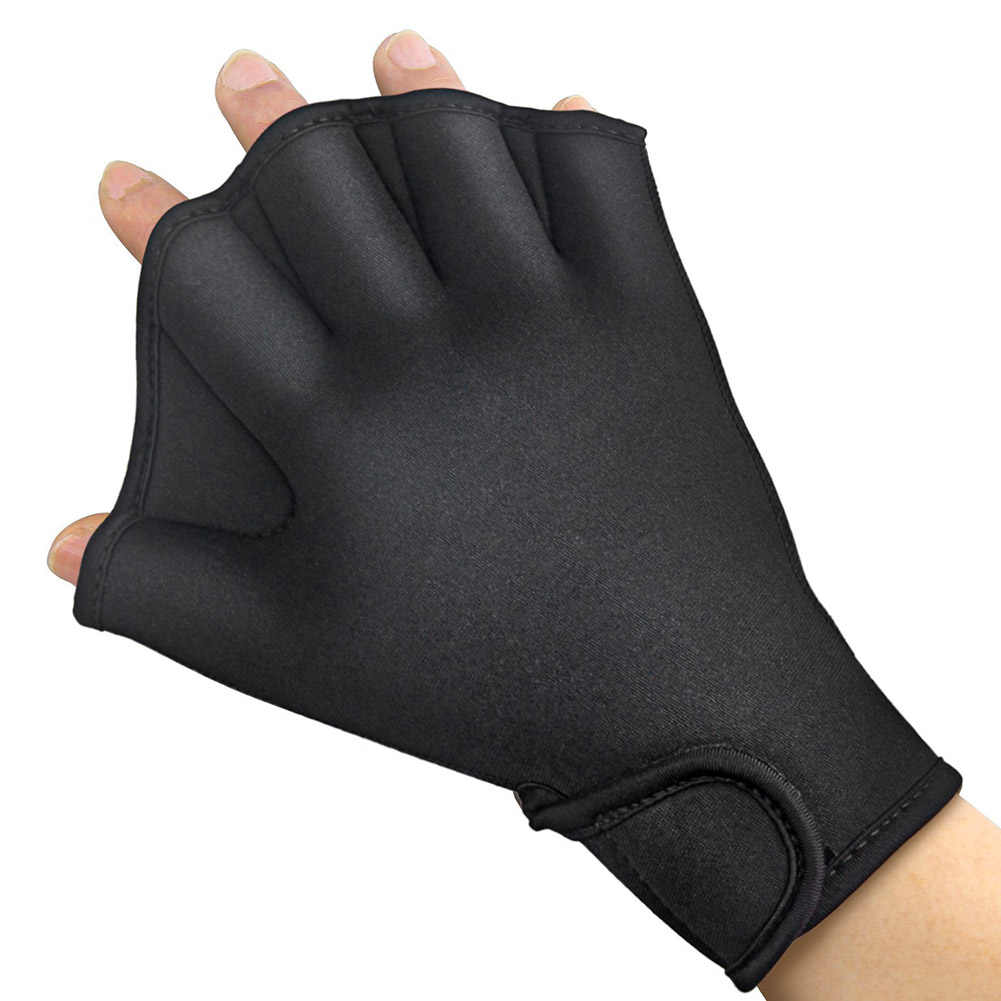 Adult Swim Training Webbed Gloves For Fitness Water Resistance Training Sports