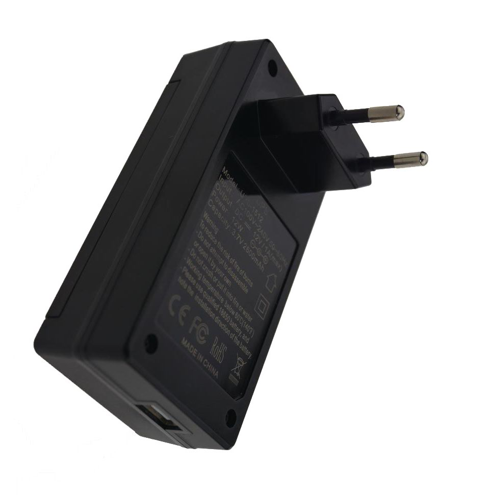 12V1A AC to DC Mini Adapter Uninterrupted Power Supply UPS Provide Emergency Power Backup to CCTV Camera with Battery Built-in