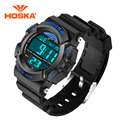 HOSKA Luxury Brand Mens Sports Watches Dive 50m Digital LED Military Watch Men Fashion Casual Electronics Wristwatches Hot Clock