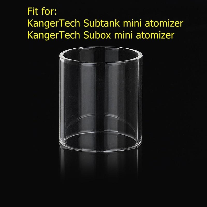 Hxjvape Original Pyrex Bubble Glass Tank For Kangertech Subtank Subox Mini Glass Atomizer Spare Bulb Vape Glass Tube