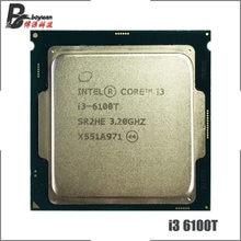 Intel Core i3-6100T i3 6100 T 3,2 GHz Dual-Core Quad-Gewinde CPU Prozessor 3 M 35 W LGA 1151