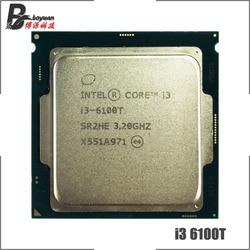 Intel Core i3-6100T i3 6100T 3.2 GHz Dual-Core Quad-Thread CPU Processor 3M 35W LGA 1151