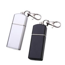 LUOEM Portable Ashtray Cigarette Ashtray Smoking Ashtray Outdoor Use Ash Holder Pocket Tray with Lid Key Chain for Travelling(China)