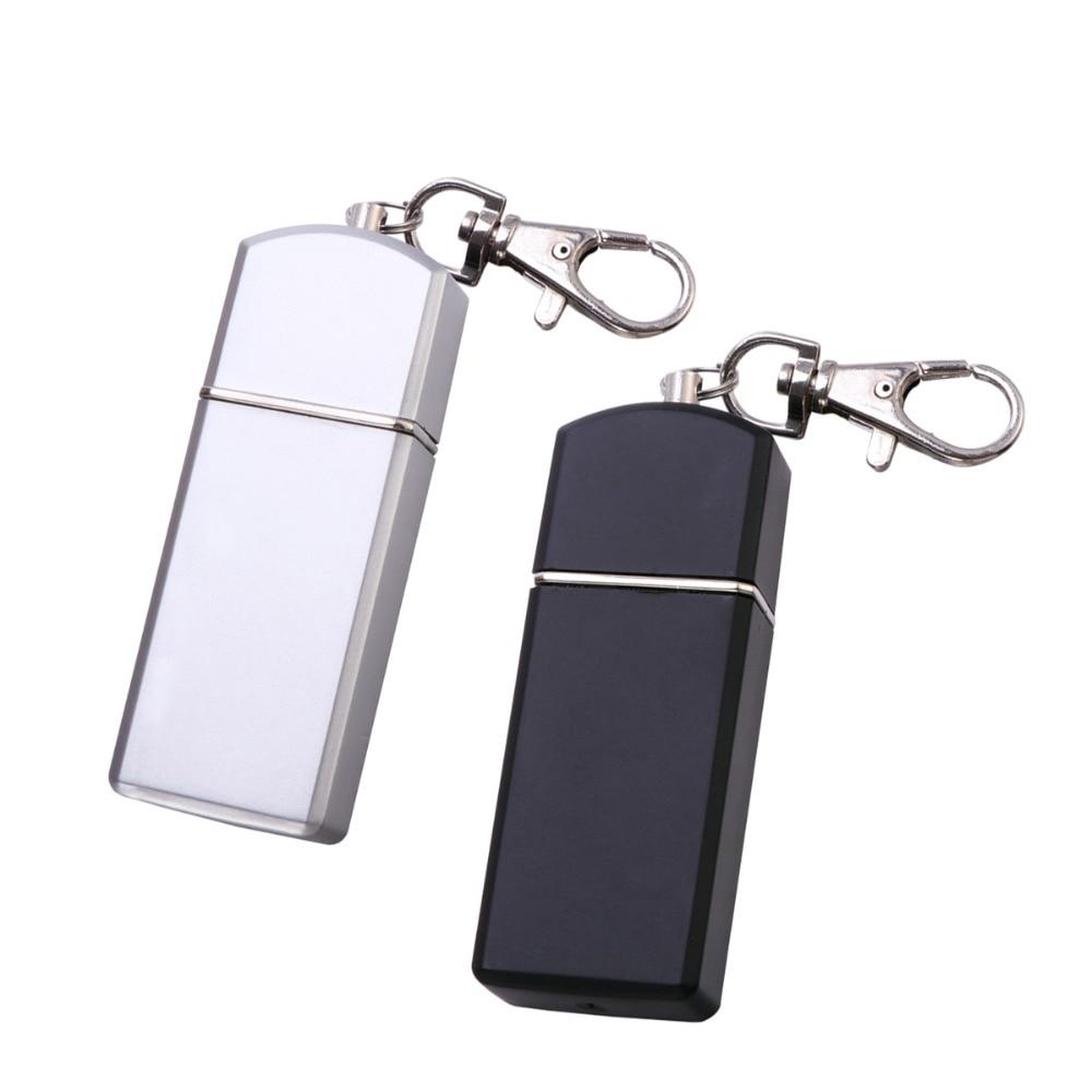 Lergo Smoke Ash Tray Portable Ashtray Keychain Metal Pocket Ashtray