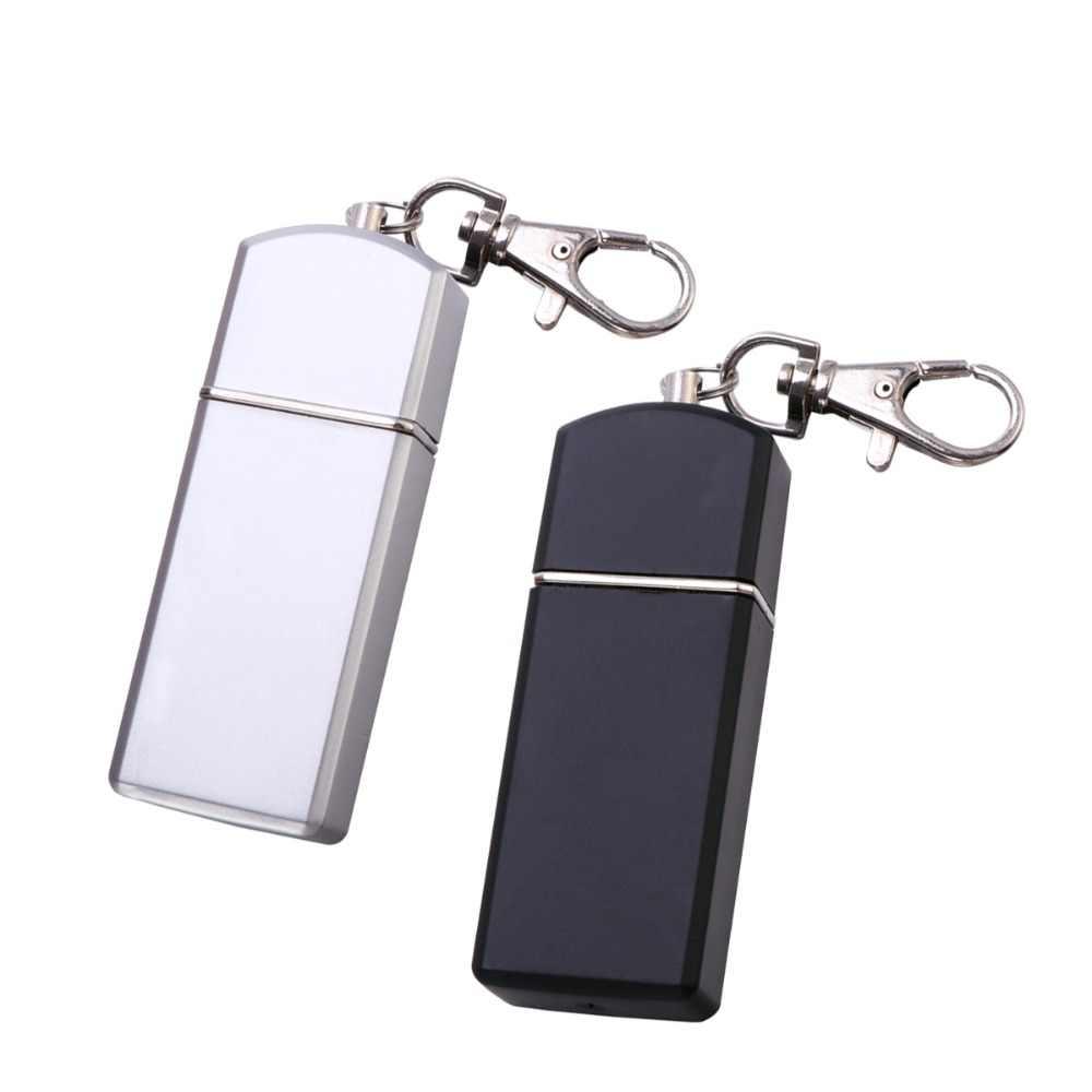 Luoem cinzeiro de cigarro cinzeiro portátil uso ao ar livre cinzeiro cinza titular bandeja de bolso com tampa chaveiro para viajar