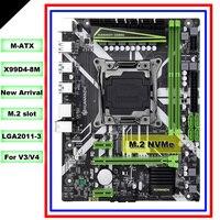 HUANANZHI M ATX X99 اللوحة الرئيسية لجميع المعالجات LGA2011-3 مثل 2680 V4/V3 M.2 NVMe فتحة 2 * DDR4 4 * USB3.0 4 * SATA3.0 الموانئ