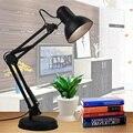Manera de la alta Calidad E27 LED Estudiante Estudio Dormitorio Dormitorio Oficina de Trabajo Plegable Brazo Luces de Noche Lámpara de Mesa Lámparas de Escritorio Libro