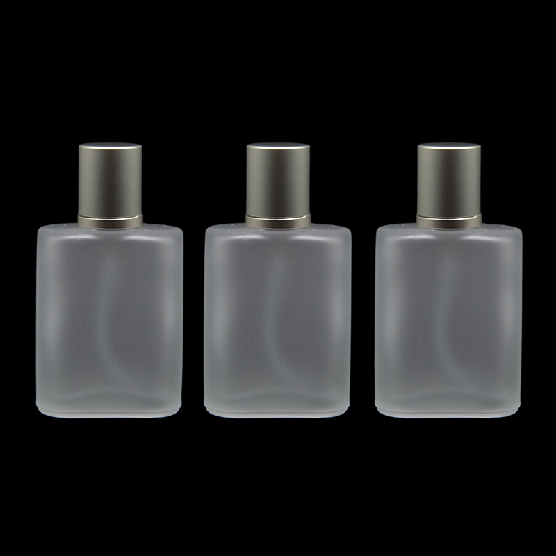 5 Pieces Frosted Glass Spray 30ml Perfume Bottle 1