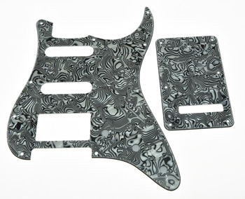 KAISH raya de cebra estilo ST golpeador HSS Placa de rayado, placa posterior, tornillos