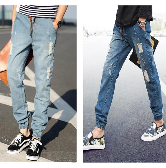 Pantanones Jeans Ala Moda Para Hombres