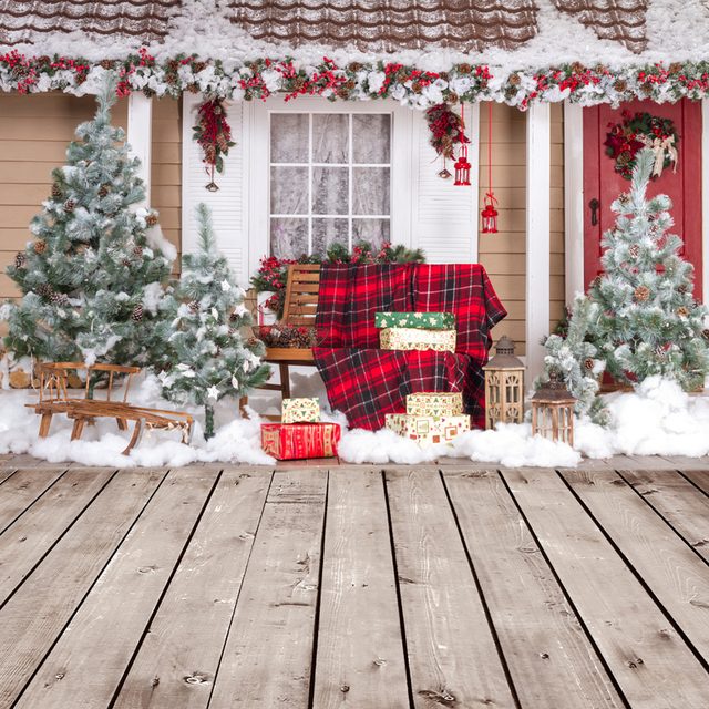 Christmas Decorations For Home Photography Backdrops