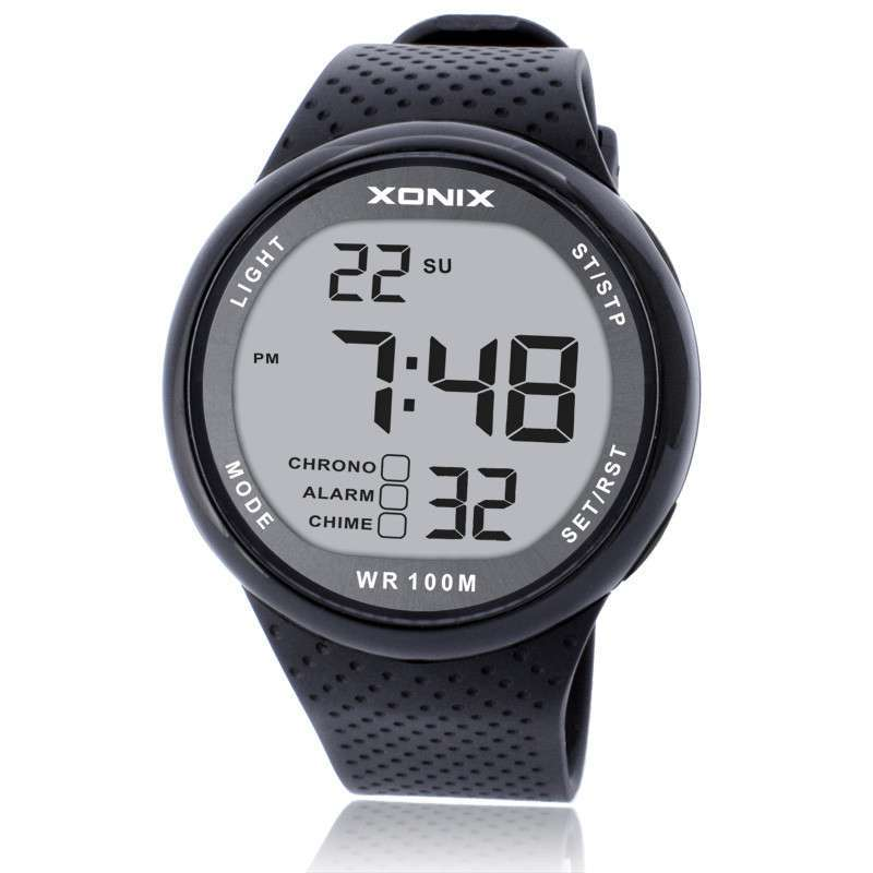 xonix fashion sports watches waterproof 100m outdoor