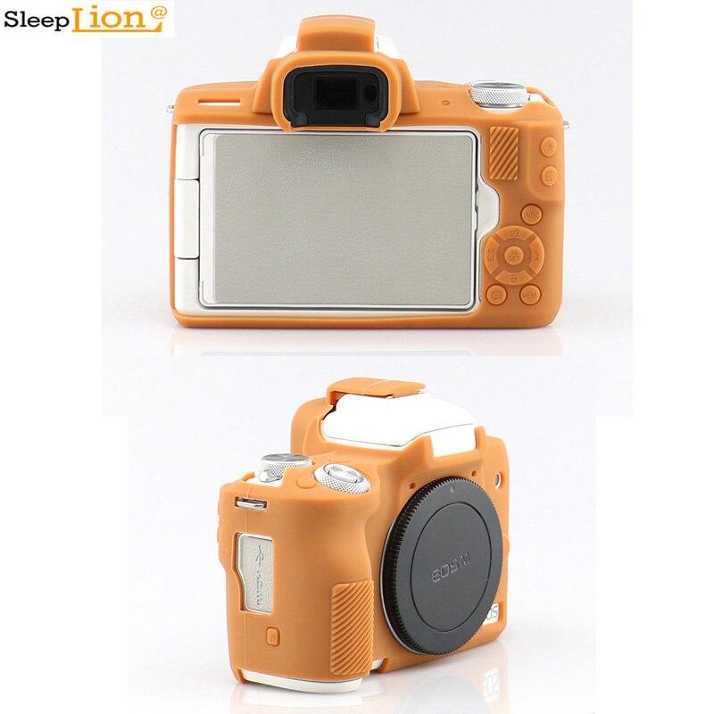 Dormeur caméra souple coque en silicone corps housse de protection pour Canon M50 système sans miroir caméra en caoutchouc coque peau
