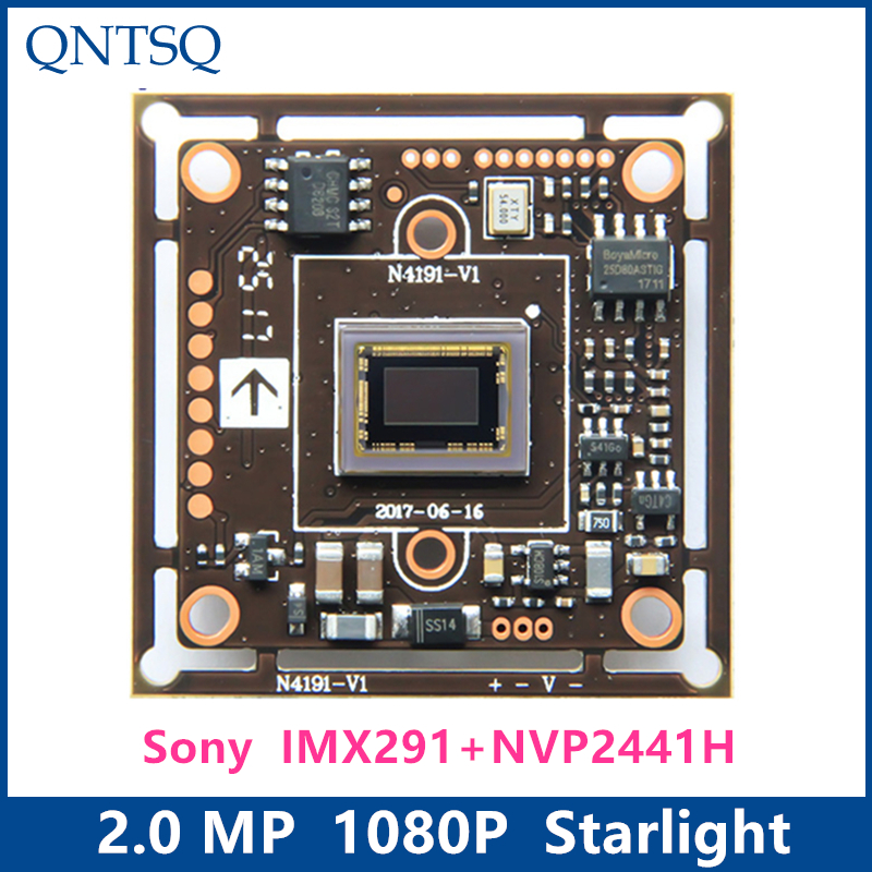 1080P 2MP SONY 1/2.8 IMX291+NVP2441H CMOS BOARD,4in1 Starlight high-definition,AHD,CVI,TVI,Analog CCTV Camera Module board