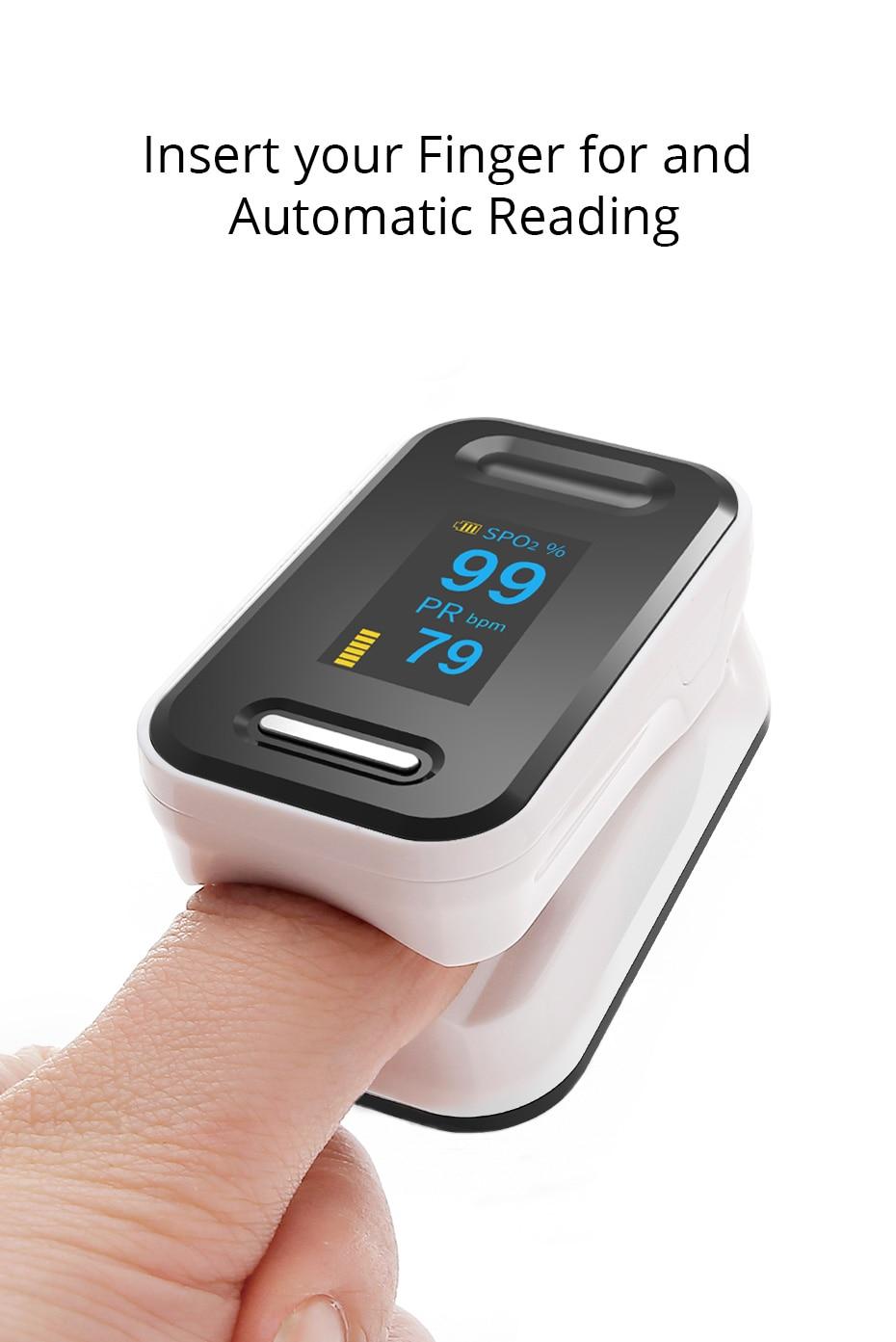 Digital de pulso dedo oxímetro CE FDA