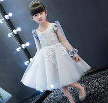 Summer Christmas flower girls dress wedding sequined girl Clothing princess dresses baby girl kids party dress for girls clothes