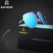 BAVIRON 2017 New Sunglasses Fashon Pilot Stainless Steel Polarized Sunglasses Anti Reflection UV400 Popular Sun Glasses 1208