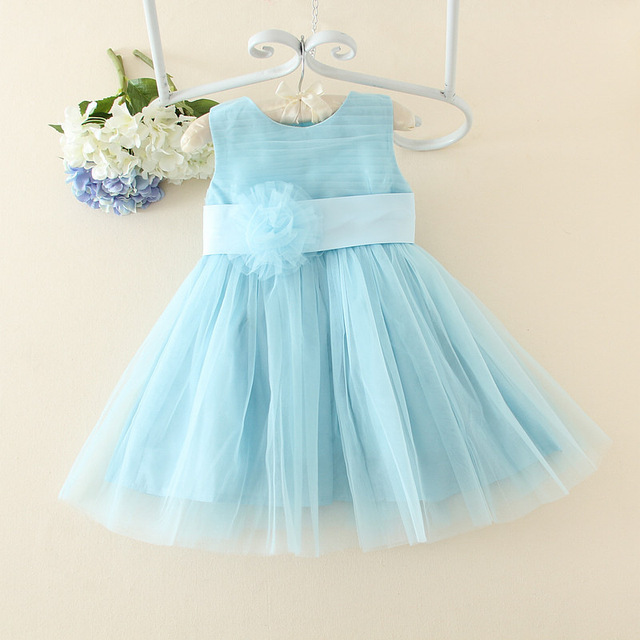1e84a667bf4 Summer Flower Girl Dresses for Weddings and Party Baby Girls Princess Lace  Dress Kids Pageant Costume Clothes for Girls 0-9Years