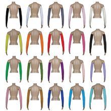 Housse de bras à manches musulmanes, manches en tissu extensible, refroidissement dextérieur, Protection solaire contre les UV, Sports et athlétisme