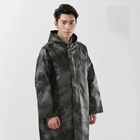 Men Raincoat Waterproof Camo Breathable Fishing Overalls Pants Rain Coat Men Rain Gear Single person Rainwear Poncho Rain Jacket