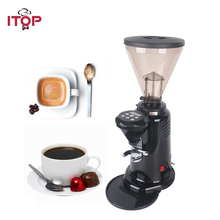 ITOP Commercial Electric Coffee Grinder Italian Dry Food Mill Grinding Machine 110V 200V 350W for Shop