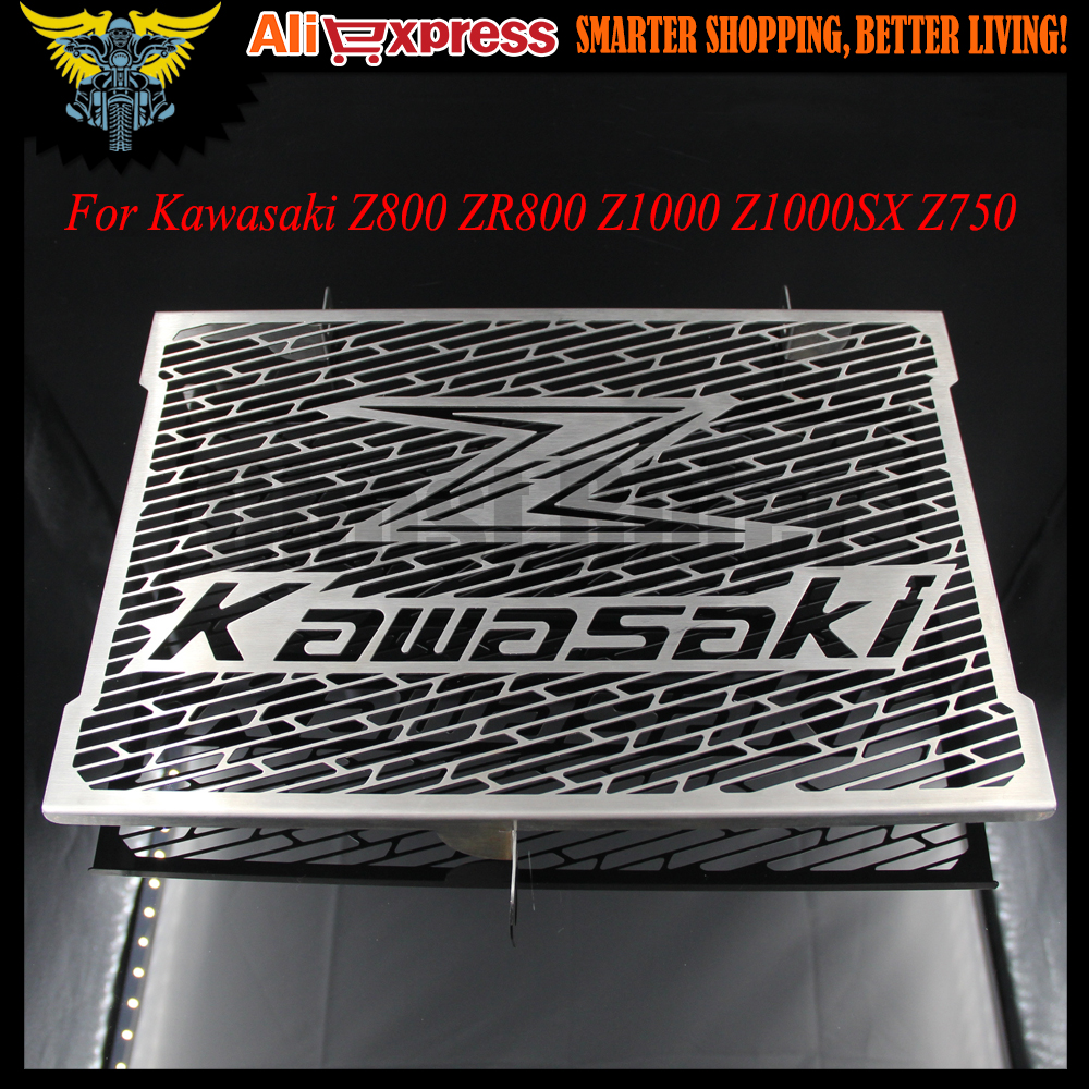 ФОТО 2016 New Arrival For Kawasaki Z750 Z800 ZR800 Z1000 Z1000SX Stainless Steel Motorcycle radiator grille guard protection