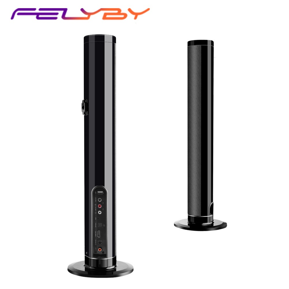 FELYBY LP 1807 Wireless Bluetooth Speaker Soundbar TV home theater Audio speaker Separate column AUX TF Speakers with Microphone