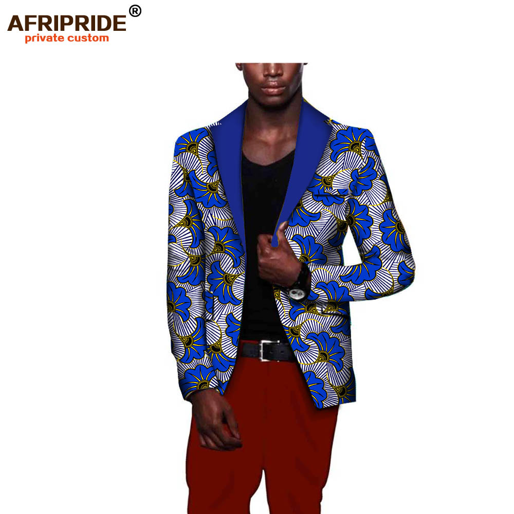 African fashion style men s suit jacket african clothes latest coat designs print cotton wax private
