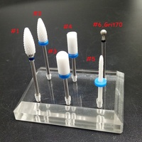 EasyNail 1pcs Hot Blue Ceramic Nail Drill Bit Pedicure Machine Remove Nail Calluses Bit Tools ElectricDrill