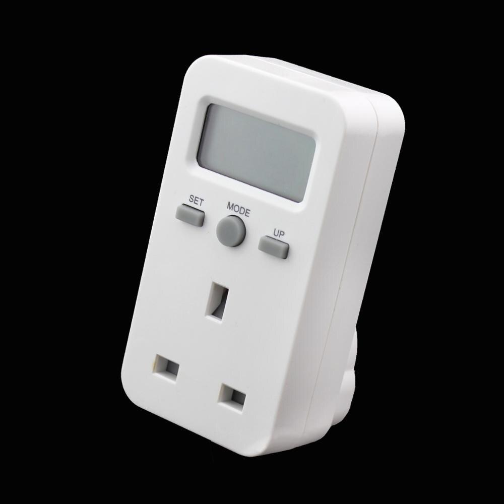 New Digital Electric Meter : New digital energy meter socket plug in electric power