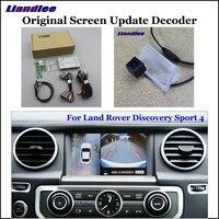 Liandlee автомобиль оригинальный экран обновленная система для Land Rover Дискавери Спорт 4 задний реверс парковочная камера цифровой декодер дисп
