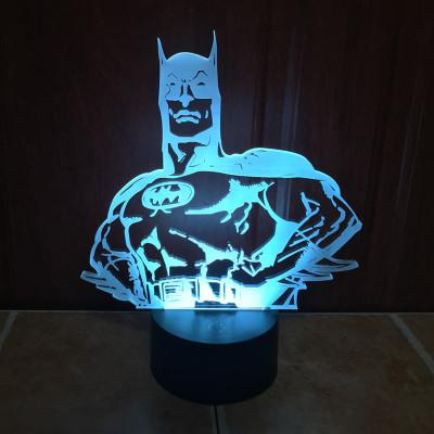 3D Batman Color Changing LED lamp