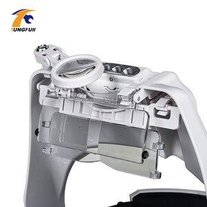 Image 3 - TUNGFULL 안경 루페 시계 제조 업체 수리 도구 안경 돋보기 LED 헤드 밴드 돋보기 1.5x 2x 2.5x 3x 3.5x 8