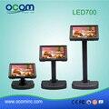 LED Cliente Pólo Display Para PDV Terminal de Comunicação RS232 USB para fonte de Alimentação (LED700)